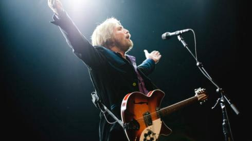 "American singer-songwriter Tom Petty of American rock band Tom Petty and the Heartbreakers perform during their ""Mojo Tour 2010'"" at Madison Square Garden in New York."